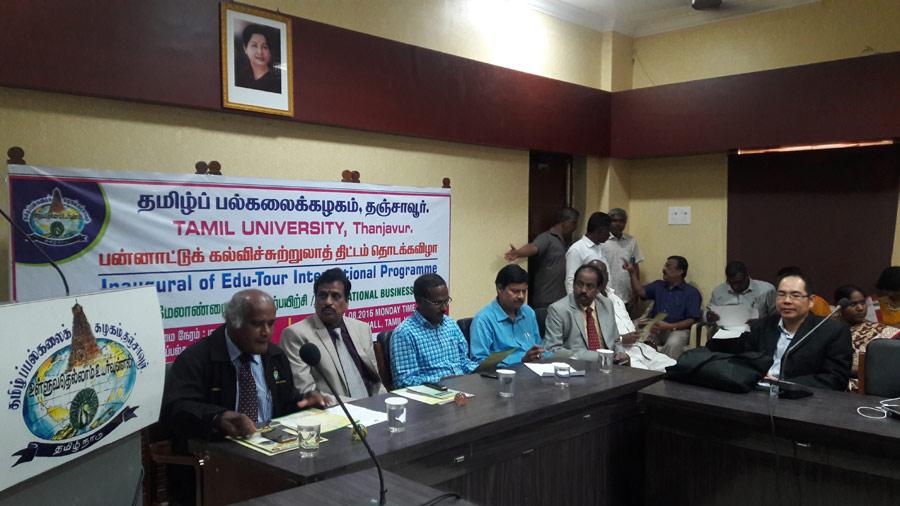Inaugural of Edu-Tour International Programme on International Business Practice by Tamil University